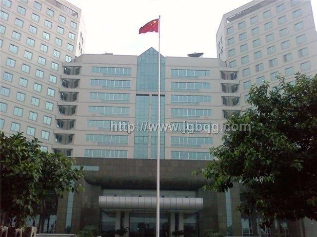 广州市国家安全局电动旗杆工程