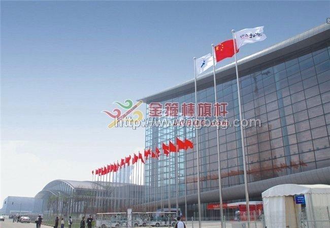 国家会议中心15M旗杆工程