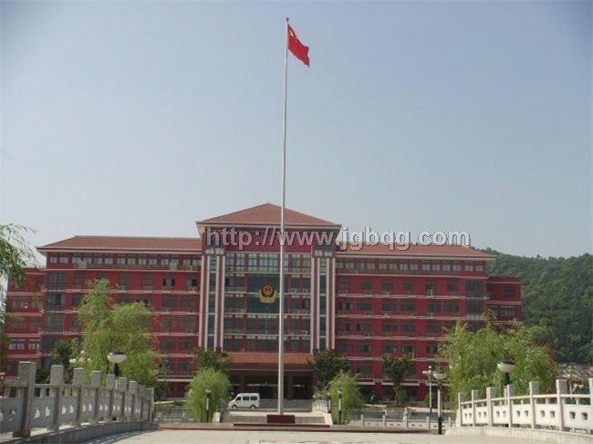 中国人民武装警察87铝合金旗杆工程