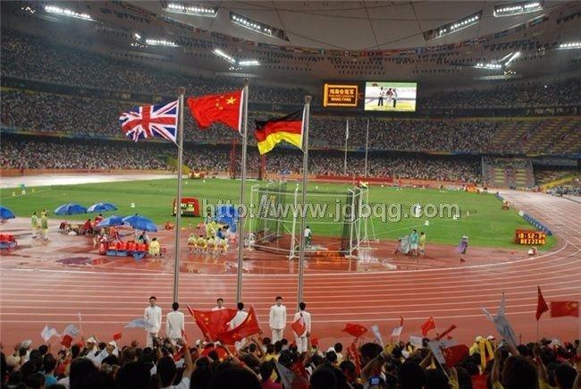 北京奥运会颁奖升旗旗杆工程