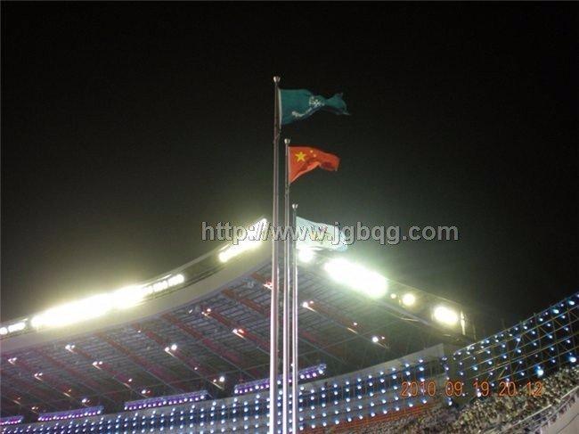 第五届全国特奥会开幕旗杆工程