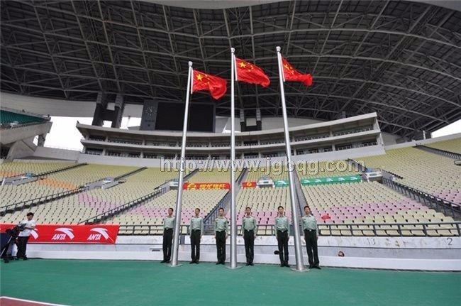广州奥体中心旗杆工程
