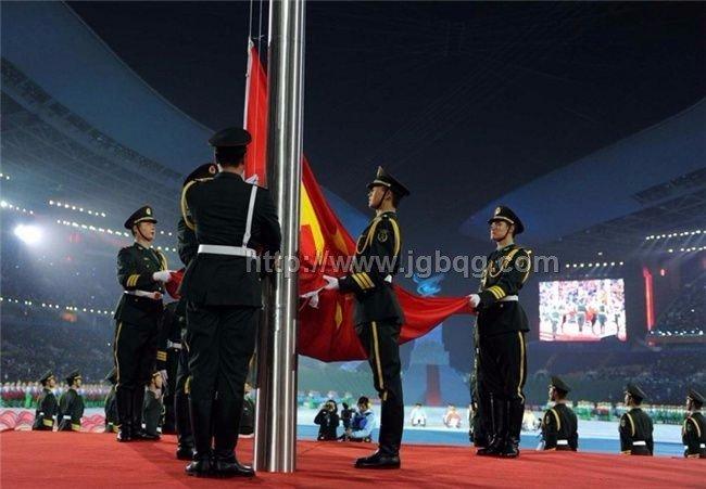 广州亚残运会开幕式升旗杆工程