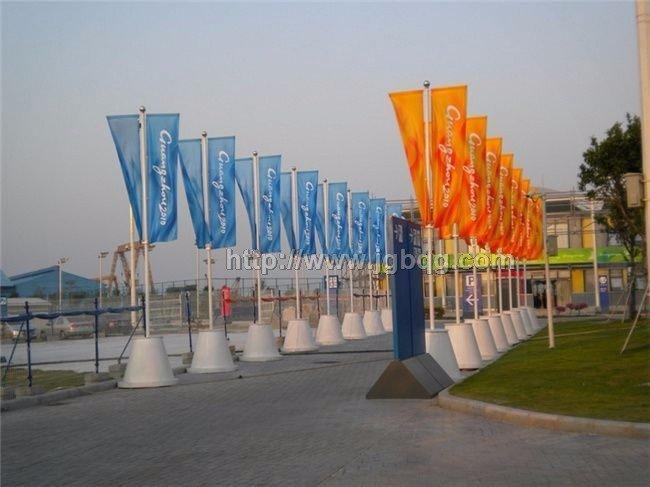 广州亚运广告旗杆工程