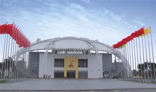 广州亚运会沙滩排球场旗杆工程