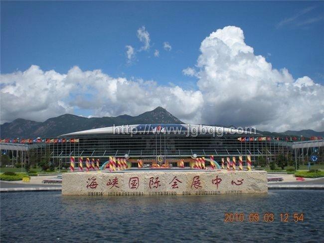 海峡国际会展中心不锈钢旗杆工程