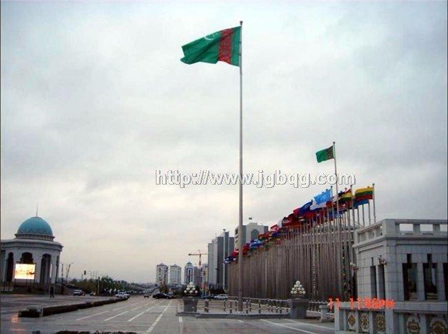 土库曼斯坦锥形旗杆工程