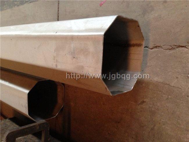 异常管加工-锈钢多边角管