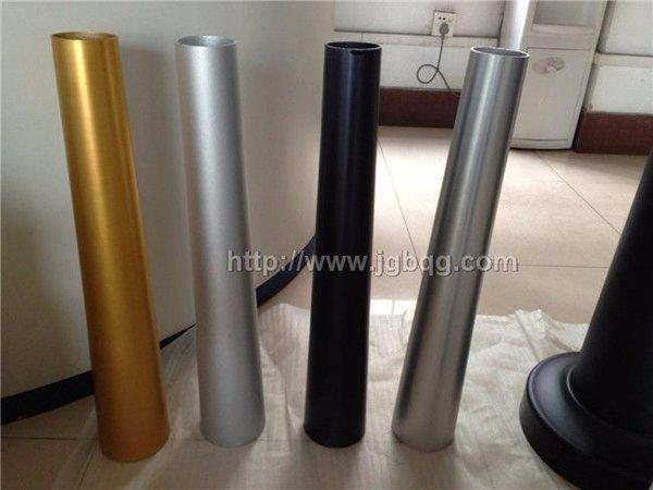 不锈钢异型管-多色锥形管
