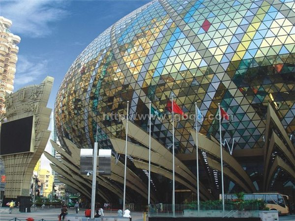 澳门新葡京大酒店12米铝合金旗杆案例