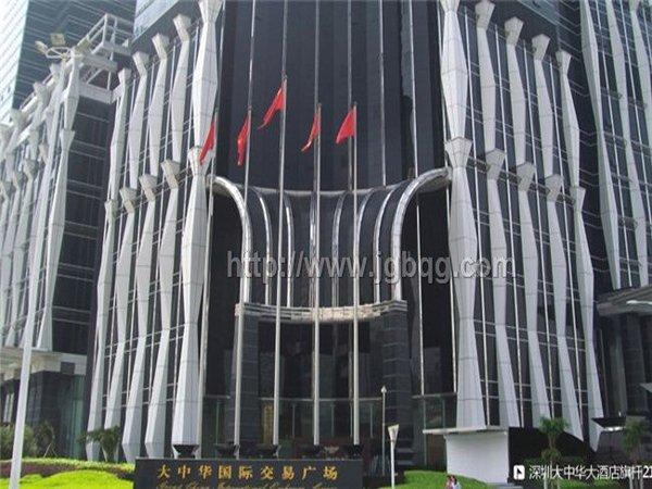 深圳大中华酒店21.8米旗杆案例