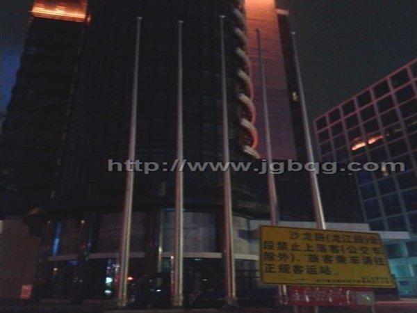 佛山龙江镇亚洲国际大酒店15.8米旗杆案例