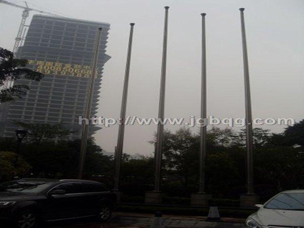 佛山保利国际酒店12米旗杆案例