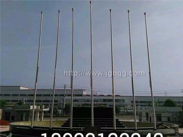 湖南六和通集团7支11米旗杆案例
