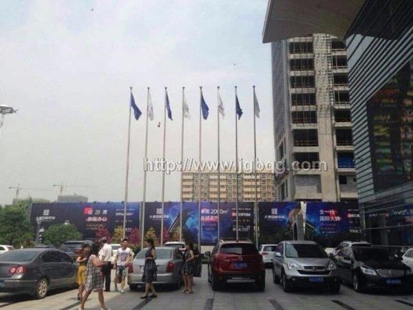 西安旗12米杆案例