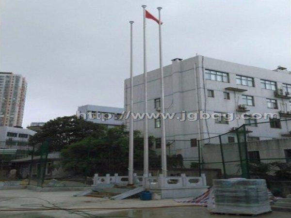 湖南左家塘雅礼中学旗杆案例