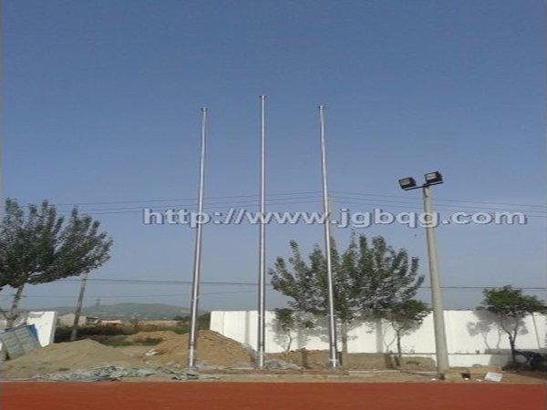 陕西西安能源职业学院15米旗杆案例