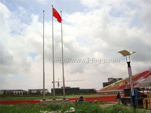 上海海洋大学13米旗杆案例