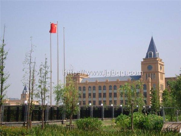 上海金山国际学校16米旗杆案例