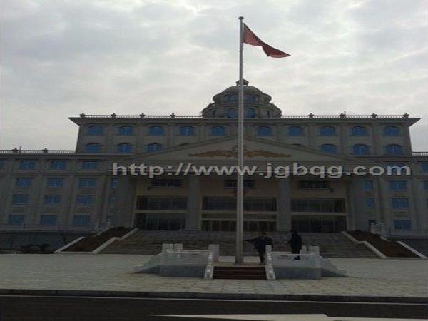 湖南吉首花垣法院不锈钢旗杆工程