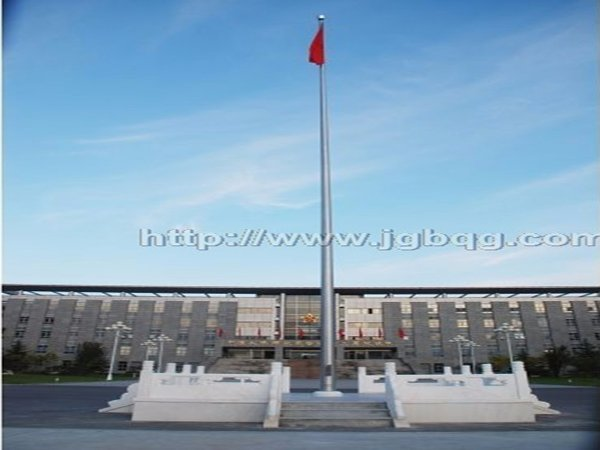 中国人民解放军三军仪锥形旗杆工程