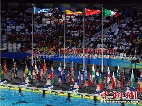 北京奥运会场馆18M旗杆工程2